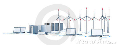 Wind energy and network