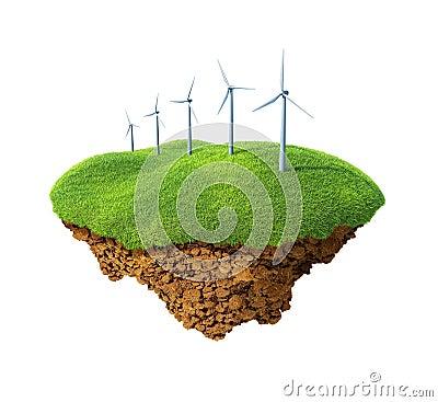 Wind energy power