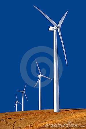 Free Wind Farm Royalty Free Stock Photography - 2320607