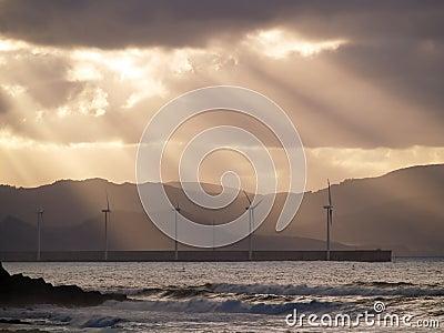 Wind Farms at Azkorri