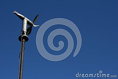 Wind meter turbine