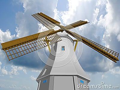 Wind mill.