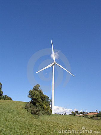 Free Wind Mill Royalty Free Stock Photos - 5867548