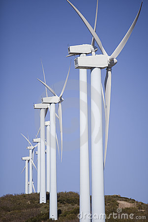 Wind mill clean power