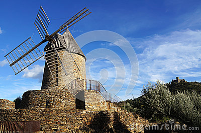 Wind mill of Collioure