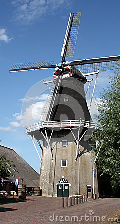 Wind Mill Editorial Stock Photo