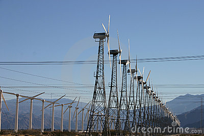 Wind Mill Electricity Farm