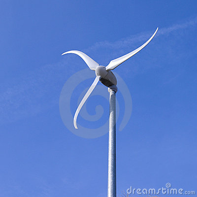 Free Wind Mill Spinning Royalty Free Stock Photo - 14115665
