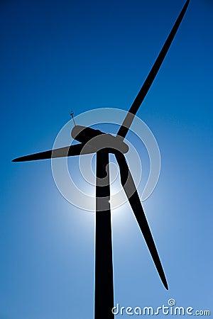 Wind Mill in the sun