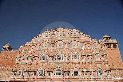 Wind Palace In Jaipur, Rajasthan Stock Photos - Image: 7484363