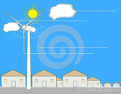 Wind Power Stock Photo - Image: 6344360