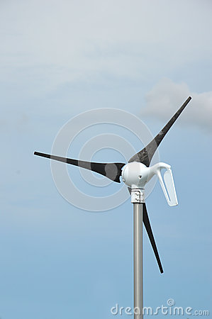 Wind power fan