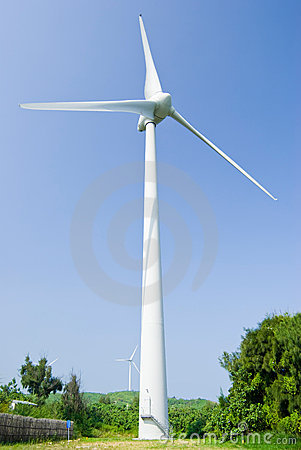 Wind power generation machine