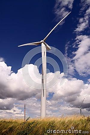 Wind-power installation