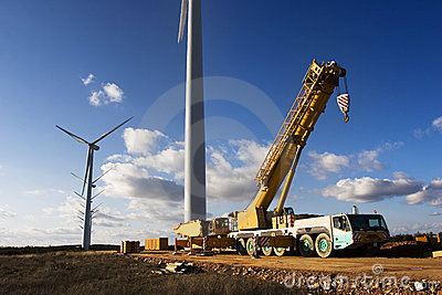 Wind power plant