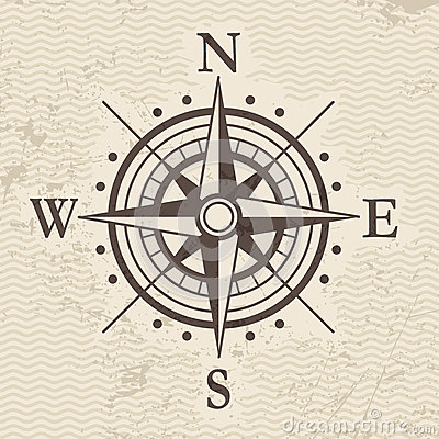 Free Wind Rose Royalty Free Stock Photos - 33019868