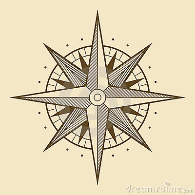 Free Wind Rose Royalty Free Stock Photography - 4361807