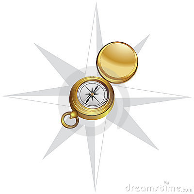 The wind rose and compass