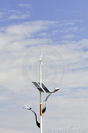 Wind and solar lights