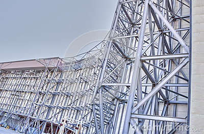 Wind Tunnel Superstructure--NASA Ames Editorial Stock Photo