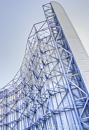 Wind Tunnel Superstructure at NASA Ames Editorial Photo