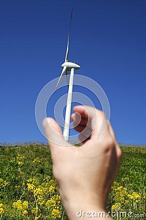 Free Wind Turbine 10 Royalty Free Stock Image - 688806