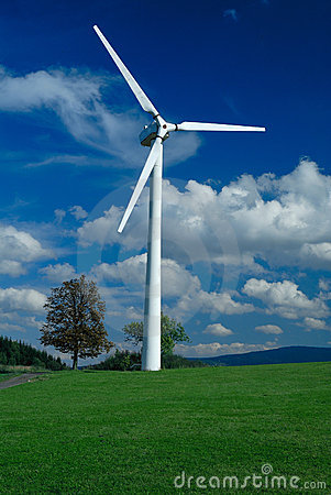 Free Wind Turbine Royalty Free Stock Images - 15042309