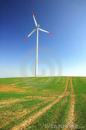 Free Wind Turbine Royalty Free Stock Photography - 2185177