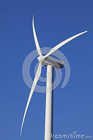 Wind Turbine on Alternative Energy Windmill Farm