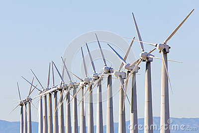 Wind turbine array