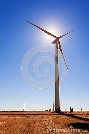 Wind Turbine Backliting