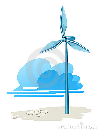 Wind turbine for electricity energy generation