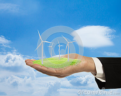 Wind Turbines. Royalty Free Stock Images - Image: 24977839