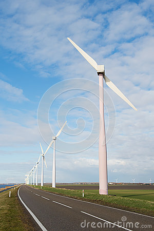 Wind turbines in Holland