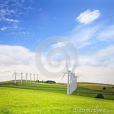 Wind Turbines at Royd Moor, Penistone, Yorkshire