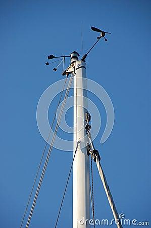 Wind vane and speed sensor