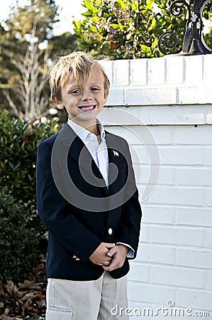 Free Windblown Boy Stock Photos - 7296983