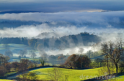 Windermere in the Mist