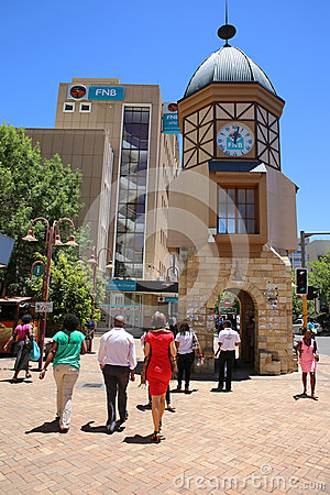 Windhoek Clock Tower Editorial Photography