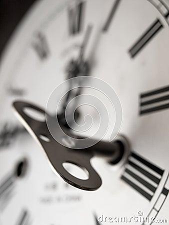 Winding clock
