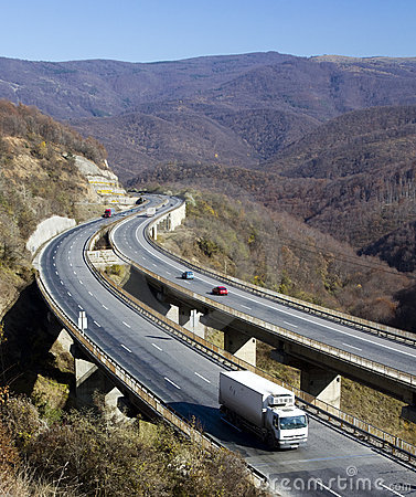 Free Winding Highway Stock Photos - 16861343