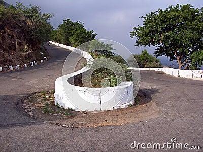 Winding road- destination