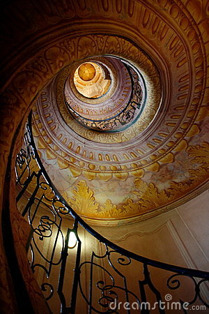 Free Winding Stairs Royalty Free Stock Images - 10892779
