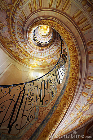 Free Winding Stairs Royalty Free Stock Images - 12396269