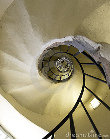 Free Winding Stairs Royalty Free Stock Image - 19089156