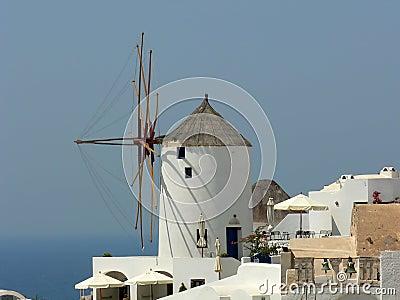 Windmil in Greece