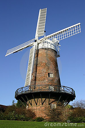 Free Windmill Royalty Free Stock Photos - 1699218