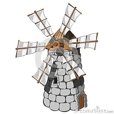 Windmill Royalty Free Stock Photo - Image: 37622345
