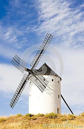 Windmill in Alcazar de San Juan