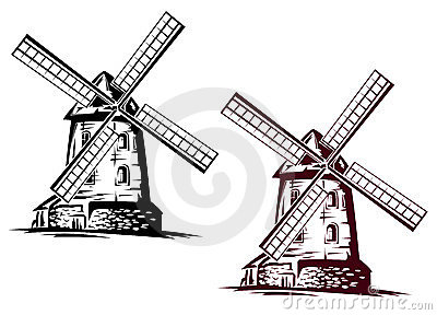 Windmill building